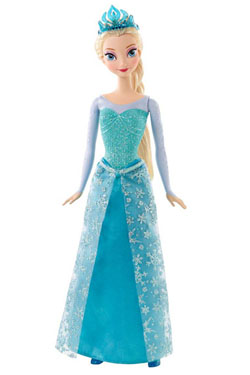 Frozen Doll Sparkling Princess Elsa 30 cm