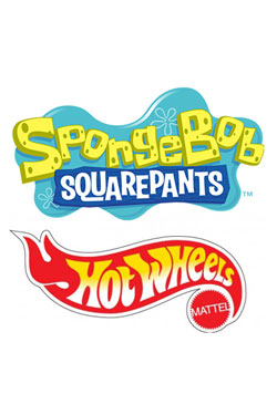 SpongeBob Square Pants Hot Wheels Vehicles 1/64  Assortment (8)