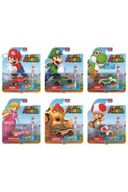 Super Mario Hot Wheels Vehicles 1/64  Assortment (8)