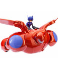 Big Hero 6 Action Figure Deluxe Flying Baymax 30 cm