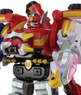 Power Rangers Figure Import Megaforce Gosei Great Megazord Japan Version 30 cm