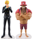 One Piece Dramatic Showcase Figures 18 cm Assortment Sanji & Chopper (4)