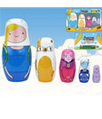 Adventure Time Nesting Dolls Set Fionna & Cake EE Exclusive 15 cm