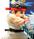 Street Fighter PVC Statue with Sound & LED Ryu 17 cm