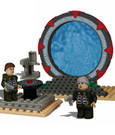 Stargate SG-1 Best-Lock Construction Set Jack & Daniel Off World