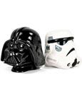 Star Wars Bookends Stormtrooper and Vader 15 cm