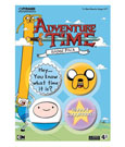 Adventure Time Pin Badges 4-Pack