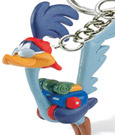 Looney Tunes Keychain Road Runner 5 cm
