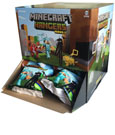 Minecraft Hangers Keychains Mystery Bags Display (24)
