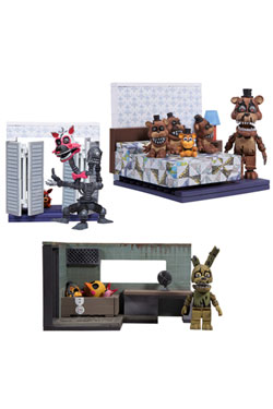 Five Nights at Freddy's Small Construction Set Wave 1 Assortment (6)