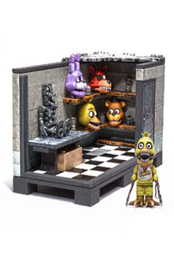 Five Nights at Freddy's Construction Set Back Stage