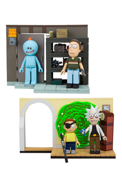 Rick and Morty Small Construction Set Wave 1 Assortment (6)
