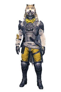 Destiny Color Tops Action Figure Hunter (Blacksmith Shader) 18 cm