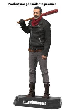 The Walking Dead TV Version Color Tops Action Figure Negan Exclusive Bloody Edition 18 cm