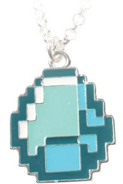 Minecraft Necklace Diamond