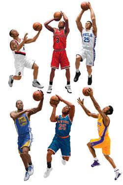 NBA Basketball Action Figures 15 cm Series 30 Assortment (8)