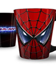 Spider-Man Mug Relief Face