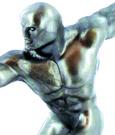 Marvel Comics Mini Figure Silver Surf 10 cm
