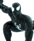 Marvel Comics Mini Figure Black Spider-Man II 7 cm