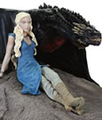 Game of Thrones Statue Daenerys & Drogon 8 x 18 x 23 cm