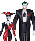 Batman The Animated Series Action Figure 2-Pack The Joker & Harley Quinn Mad Love 15 cm