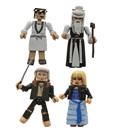 Kill Bill 10th Anniversary Minimates Action Figures 5 cm Masters of Death Box Set