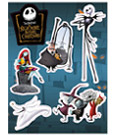 Nightmare before Christmas Magnet Set A