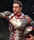 Iron Man 3 Action Hero Vignette 1/9 Mark XLII Battle Damaged Igor Armor 20 cm