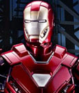 Iron Man 3 Action Hero Vignette 1/9 Mark XXXIII Silver Centurion Armor 20 cm
