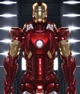 Iron Man 3 Action Hero Vignette 1/9 Mark VII Hall of Armor 20 cm