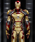 Iron Man 3 Action Hero Vignette 1/9 Mark XLII Hall of Armor 20 cm