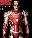 Avengers Age of Ultron Action Hero Vignette 1/9 Mark XLIII Special Edition 20 cm