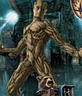Guardians of the Galaxy Plastic Model Kit 1/9 Groot & Rocket Raccoon 20 cm
