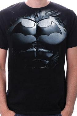 Batman T-Shirt Armor Size M
