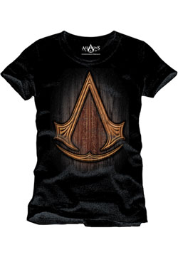 Assassin's Creed T-Shirt Insignia Wood Size L