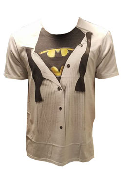 Batman T-Shirt Logo Suit Size XL