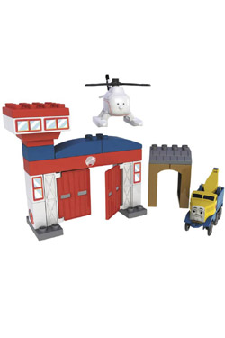 Thomas and Friends Mega Bloks Playset Rescue Center