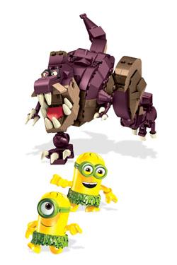 Minions Mega Bloks Construction Set Dino Ride