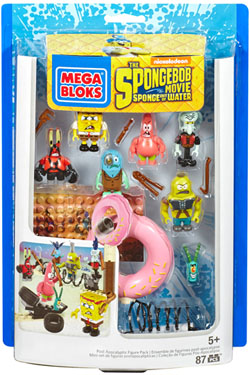 SpongeBob SquarePants Mega Bloks Construction Set Post Apocalyptic