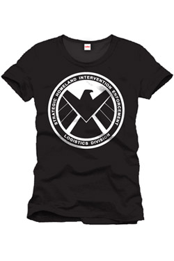 Captain America T-Shirt Shield Emblem Size M