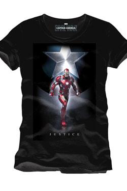 Captain America Civil War T-Shirt Justice Size L