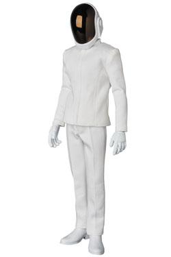 Daft Punk RAH Action Figure 1/6 Guy-Manuel de Homem-Christo White Suit Ver. 30 cm