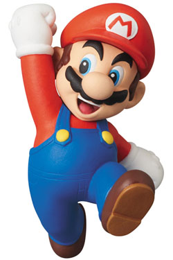 Nintendo UDF Series 1 Mini Figure Mario (New Super Mario Bros. Wii) 6 cm