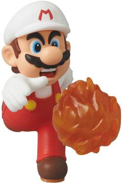 Nintendo UDF Series 2 Mini Figure Fire Mario (New Super Mario Bros. U) 6 cm