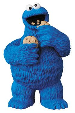 Sesame Street UDF Mini Figure Cookie Monster 9 cm