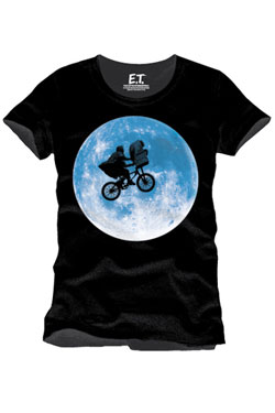 E.T. the Extra-Terrestrial T-Shirt Solar Eclipse Size M
