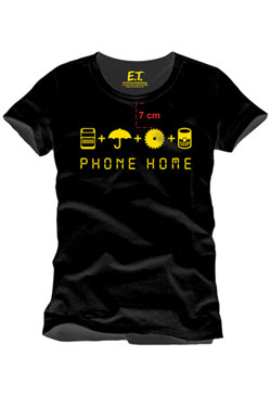 E.T. the Extra-Terrestrial T-Shirt Home Made Phone Size M