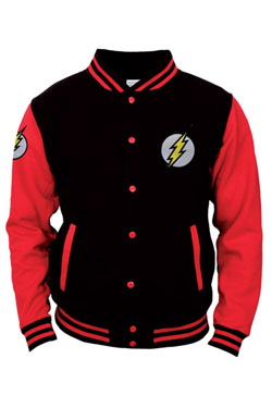 The Flash Baseball Varsity Jacket Central City Size L