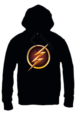 The Flash Hooded Sweater Logo Size M