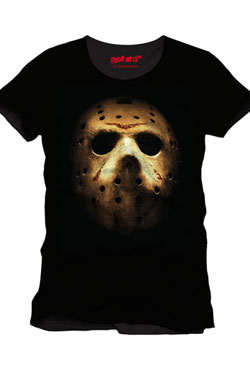 Friday the 13th T-Shirt Jason Mask Size L
